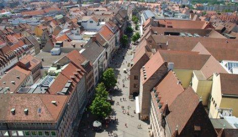 Luftbild Nürnberg