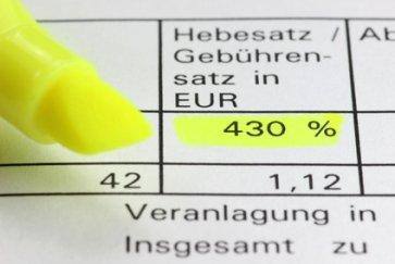 Grundsteuer Hebesatz