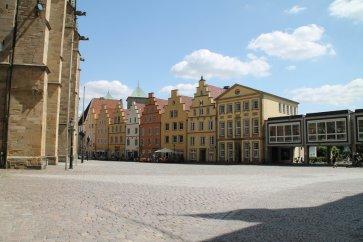 Der Marktplatz in Osnabrück