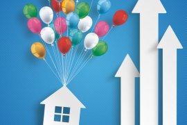 Immobilienpreise Höhenflug