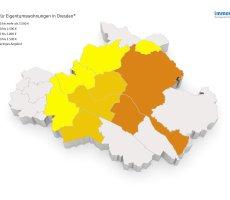 Karte Grafik Wohnungspreise Dresden